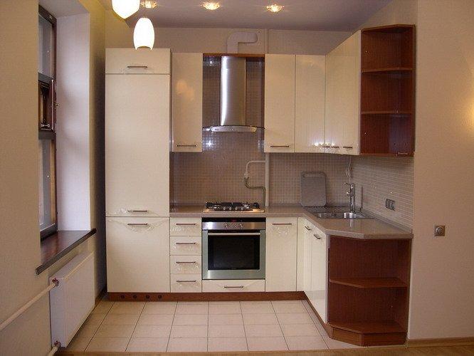 Кухонная мебель фото для маленькой кухни